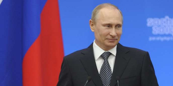 Vladimir Poutine, le 17 mars.
