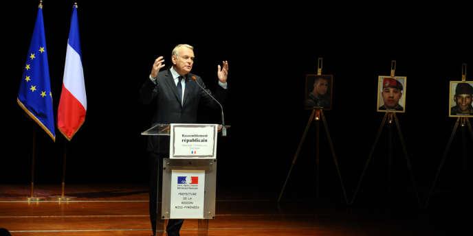 Jean-Marc Ayrault a affirmé la détermination du gouvernement à combattre « sans relâche » les actes racistes et antisémites, à l'occasion du deuxième anniversaire des crimes de Mohamed Merah.