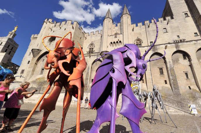 La parade d'ouverture de l'édition 2012 du Festival