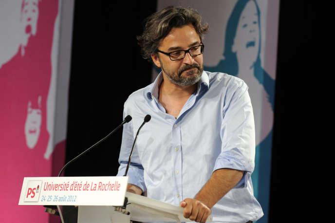 Laurent Bouvet, politologue, à l'université d'été du PS, à La Rochelle, le 25 août 2012.