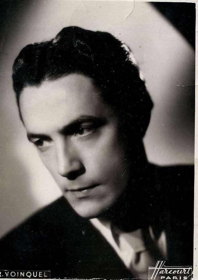 L'acteur et directeur de théâtre Christian Casadesus (1914-2014).