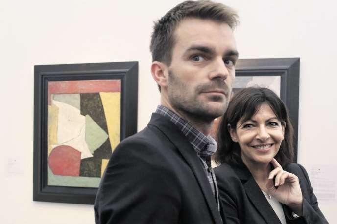 Bruno Julliard, ancien président de l'UNEF, adjoint à la culture du maire de Paris, porte-parole d'Anne Hidalgo, est candidat aux prochaines municipales.