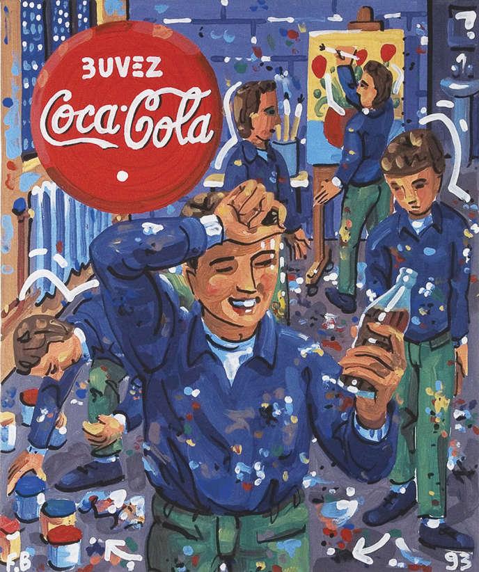 Coca Cola par  François Boiron.