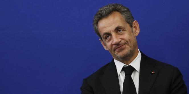 Nicolas Sarkozy, le 10 mars à Nice.