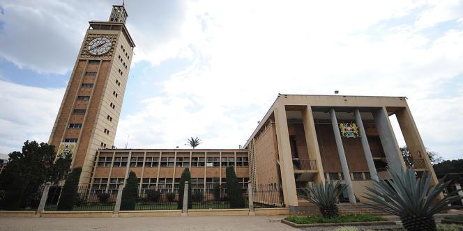 Le Parlement kényan à Nairobi, en septembre.