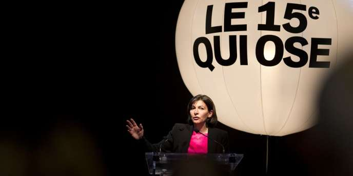 Selon la candidate socialiste à la mairie de Paris, son adversaire de l'UMP, Nathalie Kosciusko-Morizet, n'a « pas d'amour, pas d'intérêt pour Paris ».