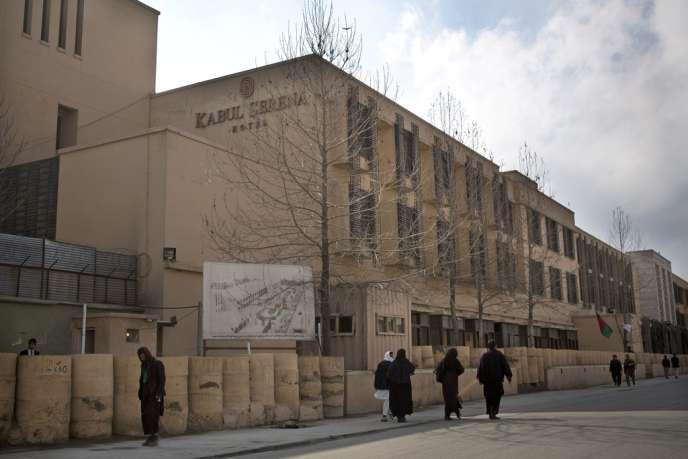 L'hôtel Serena à Kaboul, le lendemain de l'attaque des talibans.