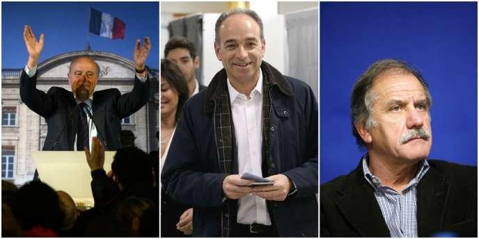 Alain Juppé, Jean-François Copé et Noël Mamère ont été réélus dès le premier tour dans leur commune.