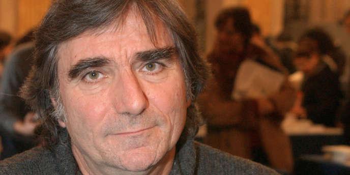 L'historien et écrivain Jean-Luc Einaudi à Paris, le 6 février 2005.