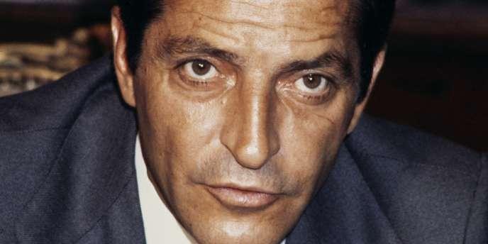 L'ancien chef du gouvernement espagnol Adolfo Suarez, en 1977.