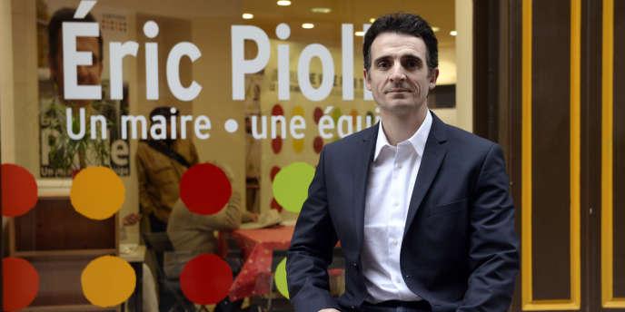 A 41 ans, Eric Piolle a permis aux écologistes de ravir au PS la mairie de Grenoble en mars 2014.