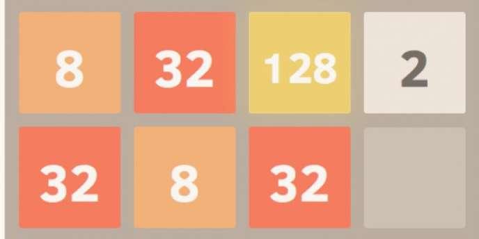 «2048», le jeu de réflexion du créateur italien Gabriele Cirulli, un développeur Web de 20ans, pourrait détrôner «Candy Crush Saga».