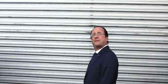 François Hollande à Tulle, le 23 mars.