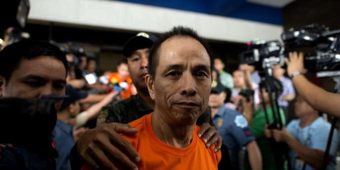 Benito Tiamzon à Manille, le 24 mars 2014.