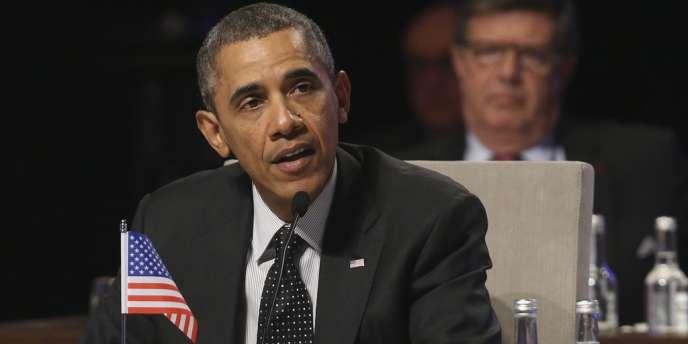 Barack Obama, le 25 mars à LaHaye.