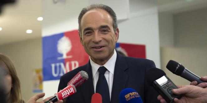 Jean-François Copé, le 23mars au siège de l'UMP, à Paris.