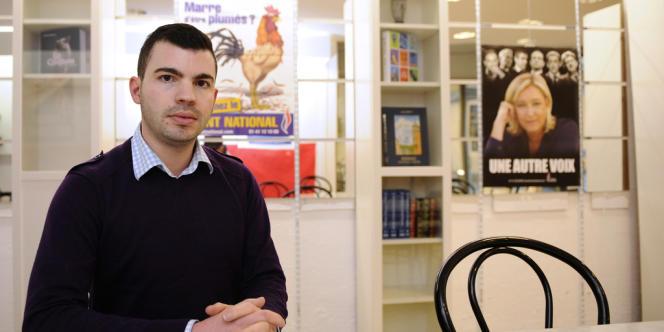 Le candidat frontiste à la mairie de Hayange, Fabien Engelmann.