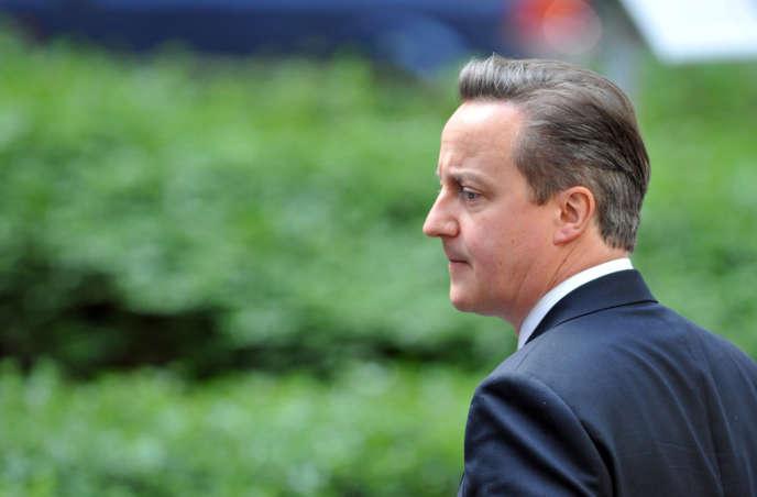 Le premier ministre britannique, David Cameron, à Bruxelles, le 21 mars.