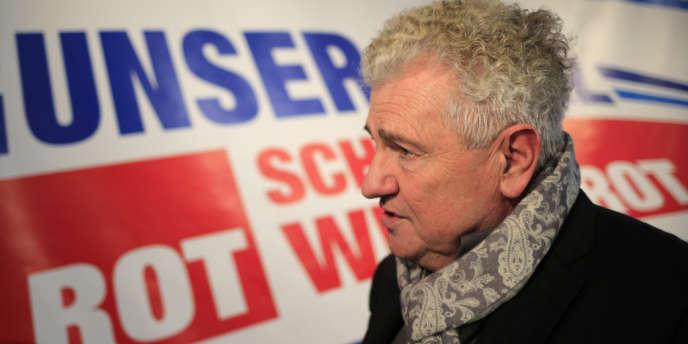 Andreas Mölzer, le 18novembre2013 à Vienne.