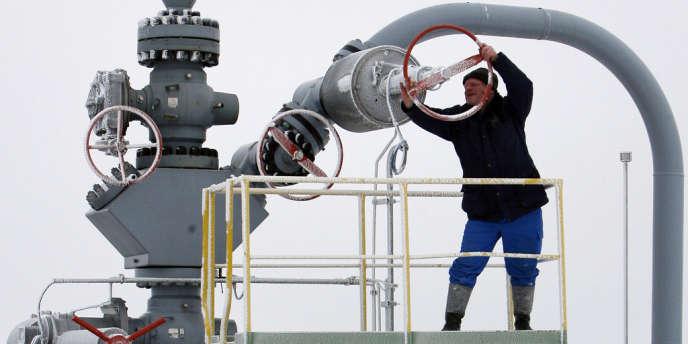 BASF et Gazprom s'apprêtent à procéder à un important échange d'actifs. Ici, lieu de stockage de gaz dans l'est de l'Allemagne.