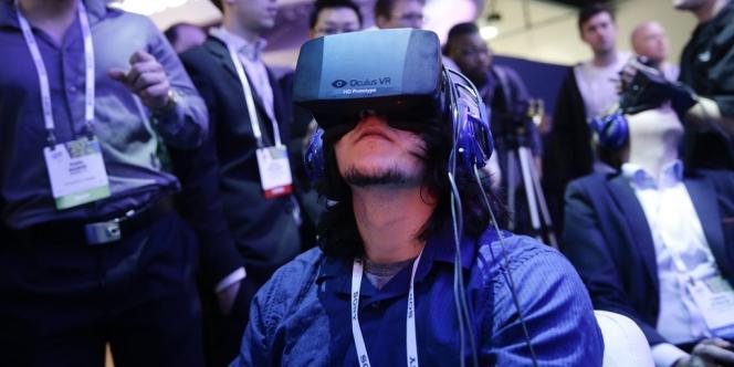 Démonstration d'un Oculus Rift à Las Vegas, en janvier.