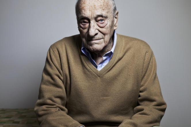 Gérard Genette, en mars 2014.