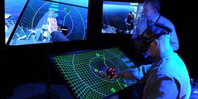 Image extraite du programme Blue Shark de l'armée américaine.