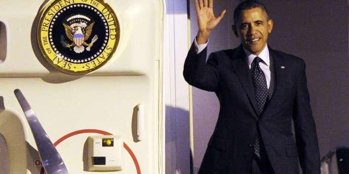 Barack Obama à Bruxelles, le 25mars.