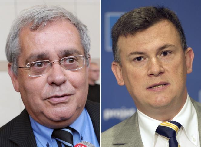 Gérard Segura et Bruno Beschizza.