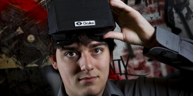 Palmer Luckey, 21 ans, a vendu sa société à Facebook pour 2 milliards de dollars.