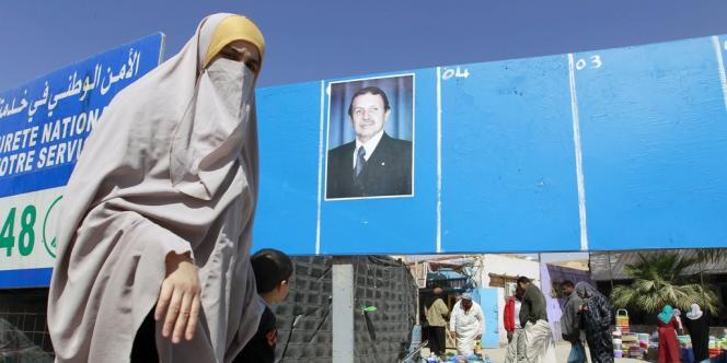 A El Oued, dans le sud d'Alger, le 23 mars.