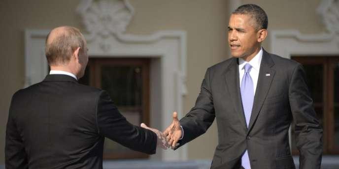 Vladimir Poutine et Barack Obama, en septembre 2013.