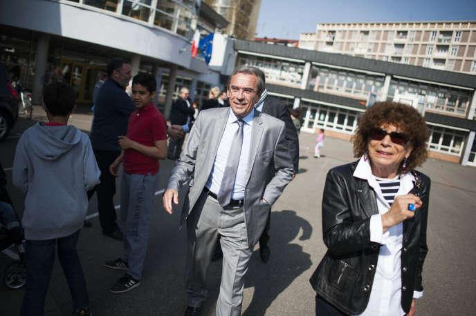 Roland Ries, maire sortant socialiste de Strasbourg, est réélu, le 30mars.
