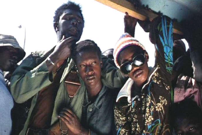 Une scène du film sénégalais de Djibril Diop Mambéty,