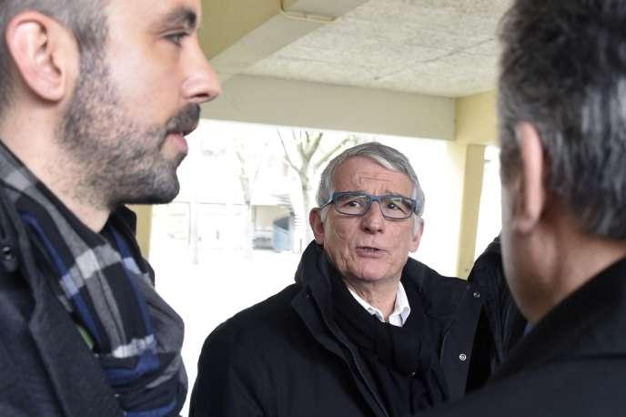Pierre Cohen, à Toulouse le 30 mars.
