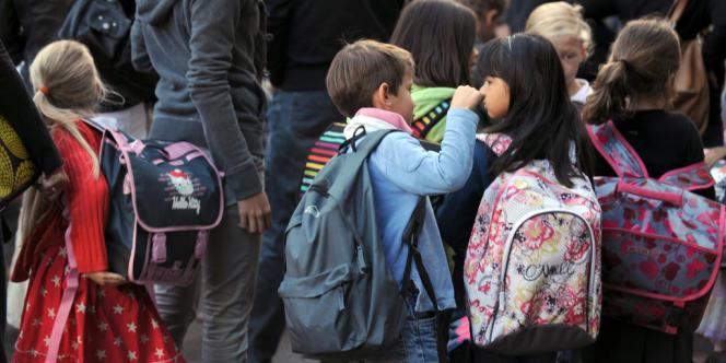 Une quatrième journée de retrait de l'école est organisée lundi 31 mars (photo d'illustration).
