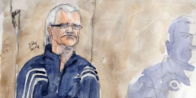 Juste avant l'ouverture de son procès, celui que l'on surnomme le «routard du crime» a décidé de changer d'avocat.