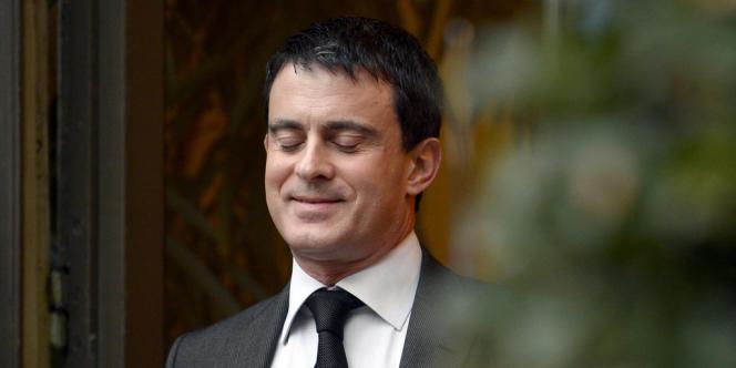 Manuel Valls, le 3 janvier 2014 à Paris.