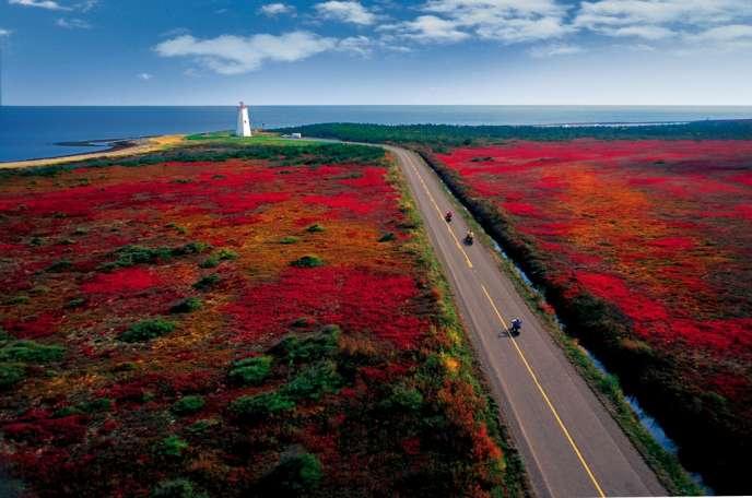Au New Brunswick, le phare de Phare de Miscou.
