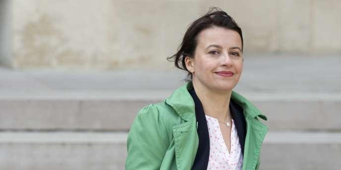 Cécile Duflot, le 26 mars à Paris.