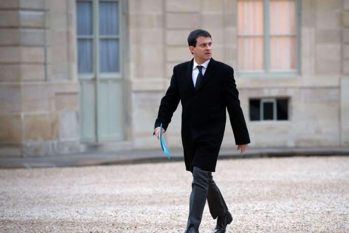 Manuel Valls, le 6 février.