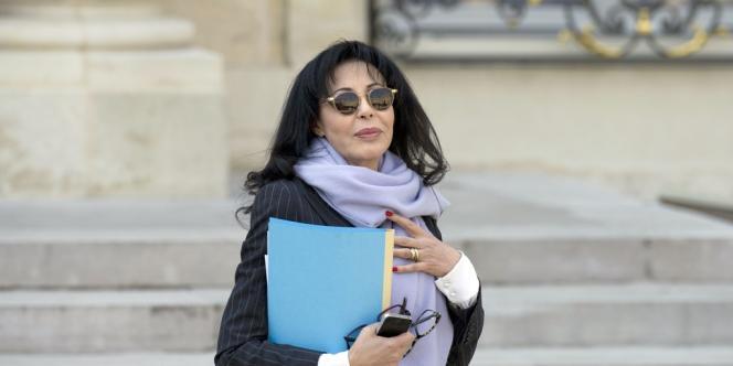 Yamina Benguigui, à l'Elysée, en mars 2014.
