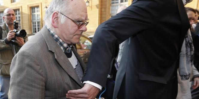 Entendu comme témoin au procès de Francis Heaulme, Henri Leclaire (ici le 1er avril) a été mis en examen mardi 5 août.