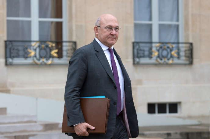 Michel Sapin, à l'Elysée le 6 février.
