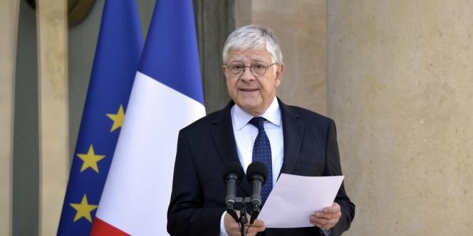 L'ex-secrétaire général de l'Elysée, Pierre-René Lemas