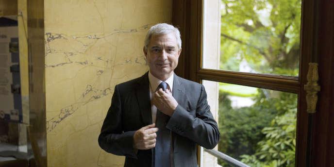 Claude Bartolone 18 juin 2012 à Paris.  AFP PHOTO / FRED DUFOUR