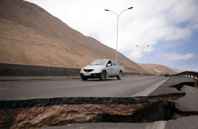 Un séisme de magnitude 8,2 a touché le Chili mardi 1er avril.