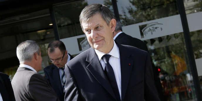 Jean-Pierre Jouyet, devant le Conseil économique, social et environnemental, le 20 septembre 2013.