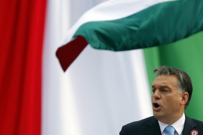 Viktor Orban, le 15 mars, à Budapest.