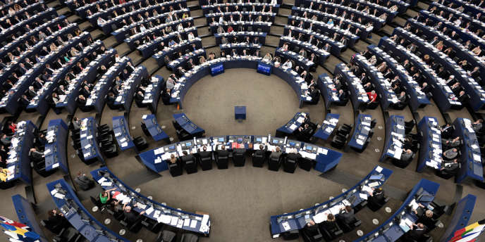 Une session du Parlement européen, en mars 2014.